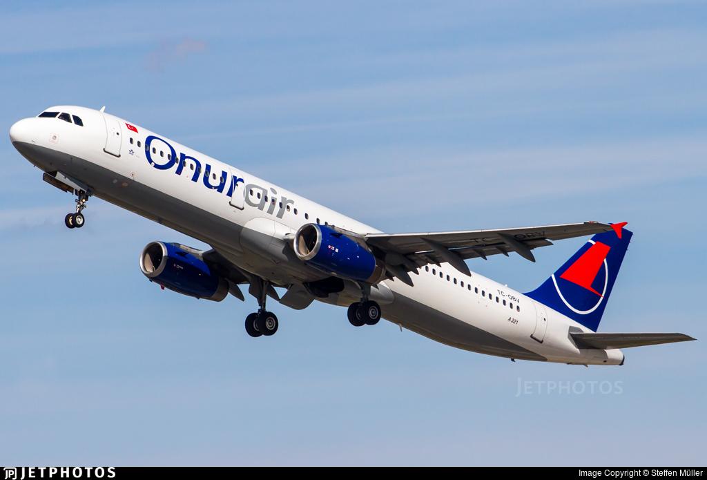 TC-OBV - Airbus A321-231 - Onur Air