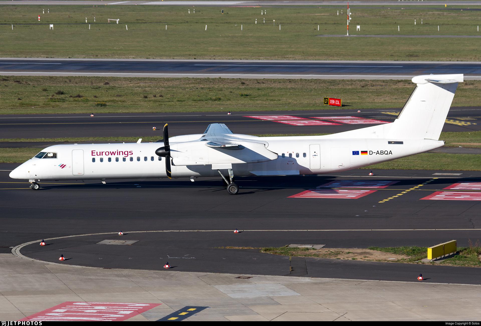 D-ABQA - Bombardier Dash 8-Q402 - Eurowings (LGW Luftfahrtgesellschaft Walter)