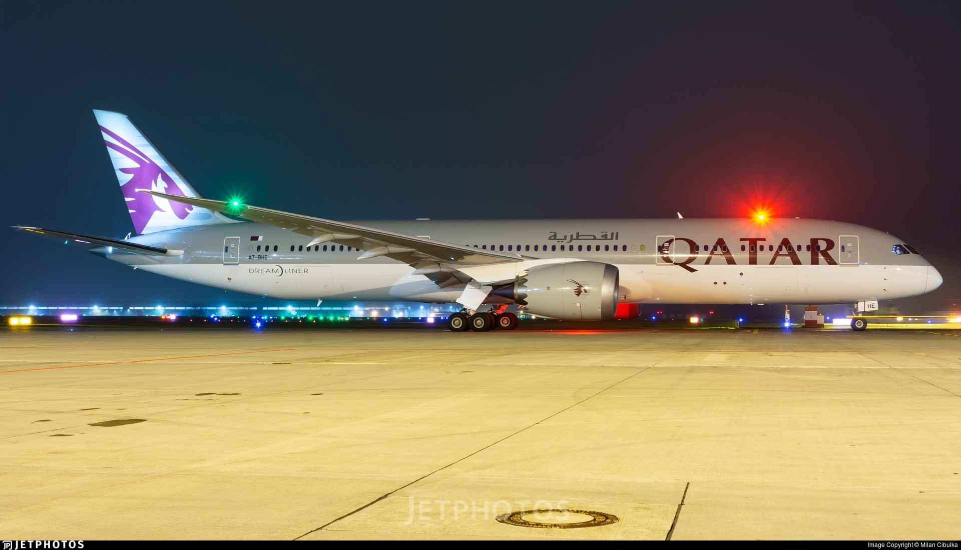 A7-BHE - Boeing 787-9 Dreamliner - Qatar Airways