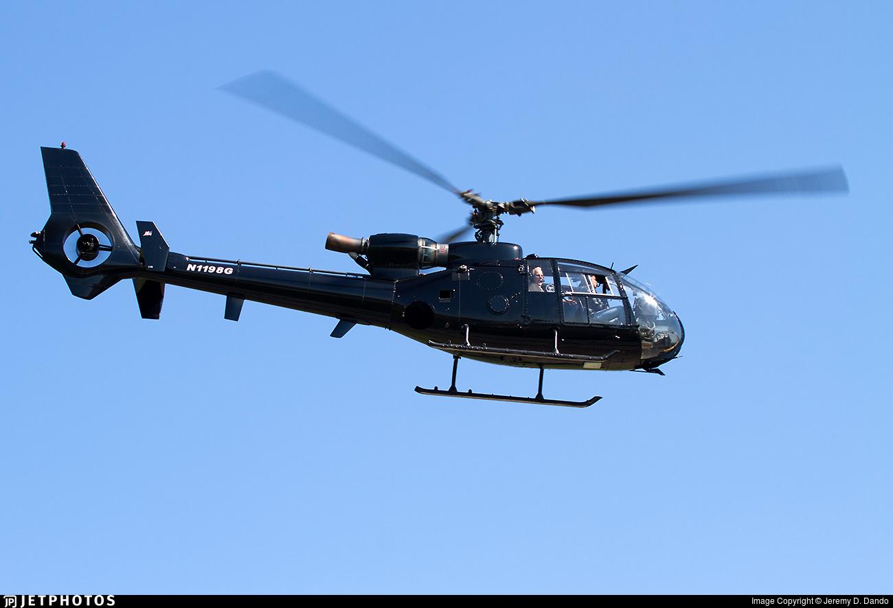 N1198G - Aérospatiale SA 341F Gazelle - Private