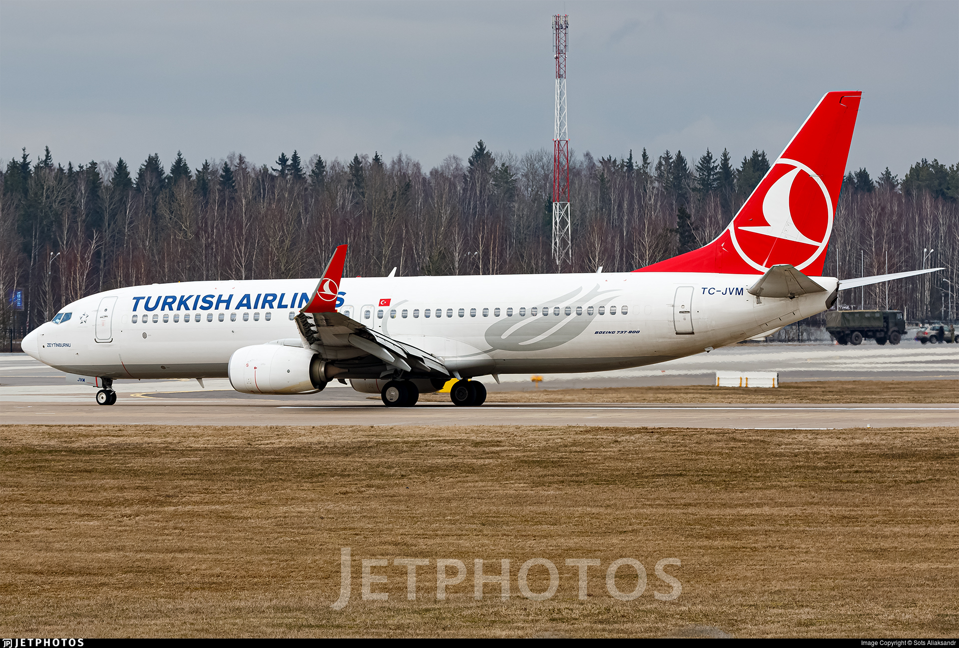 TC-JVM - Boeing 737-8F2 - Turkish Airlines