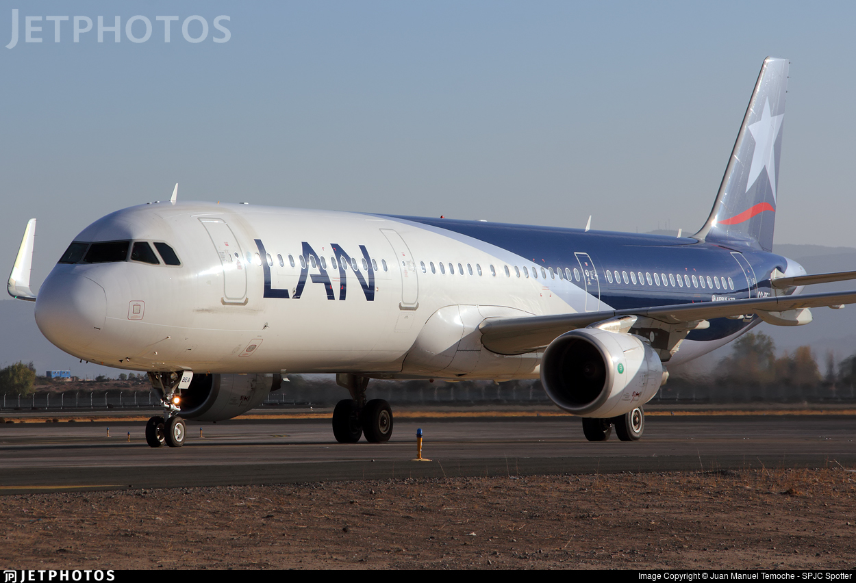 CC-BEA - Airbus A321-211 - LAN Airlines