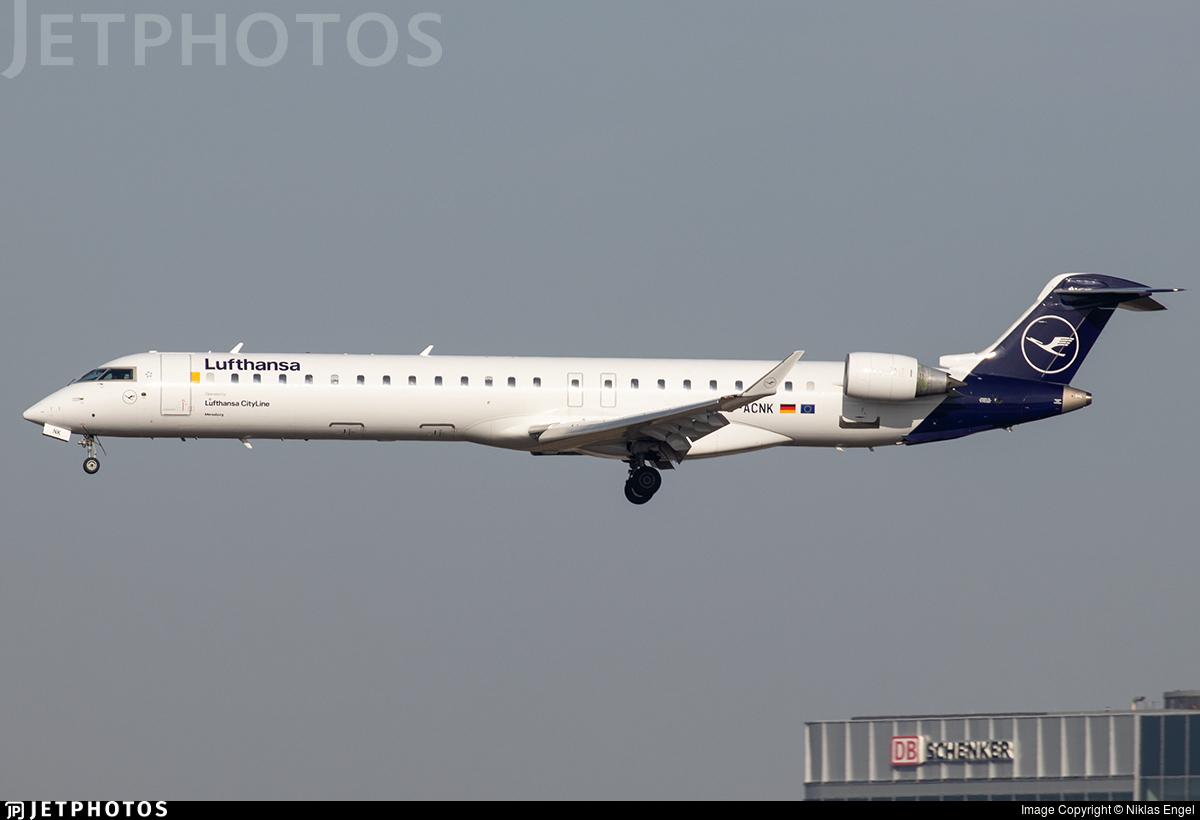 D-ACNK - Bombardier CRJ-900LR - Lufthansa CityLine