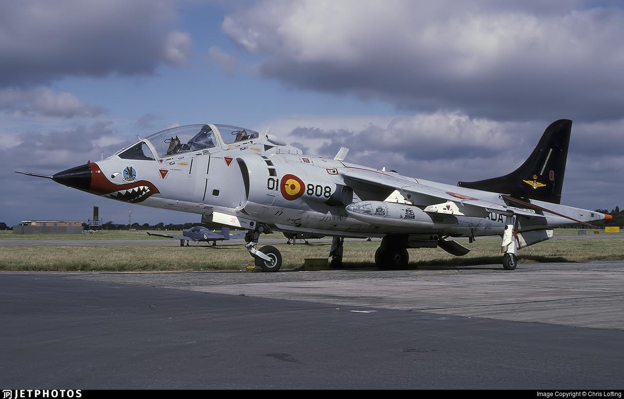 VAE.1-7 - Hawker Siddeley TAV-8S Matador - Spain - Navy