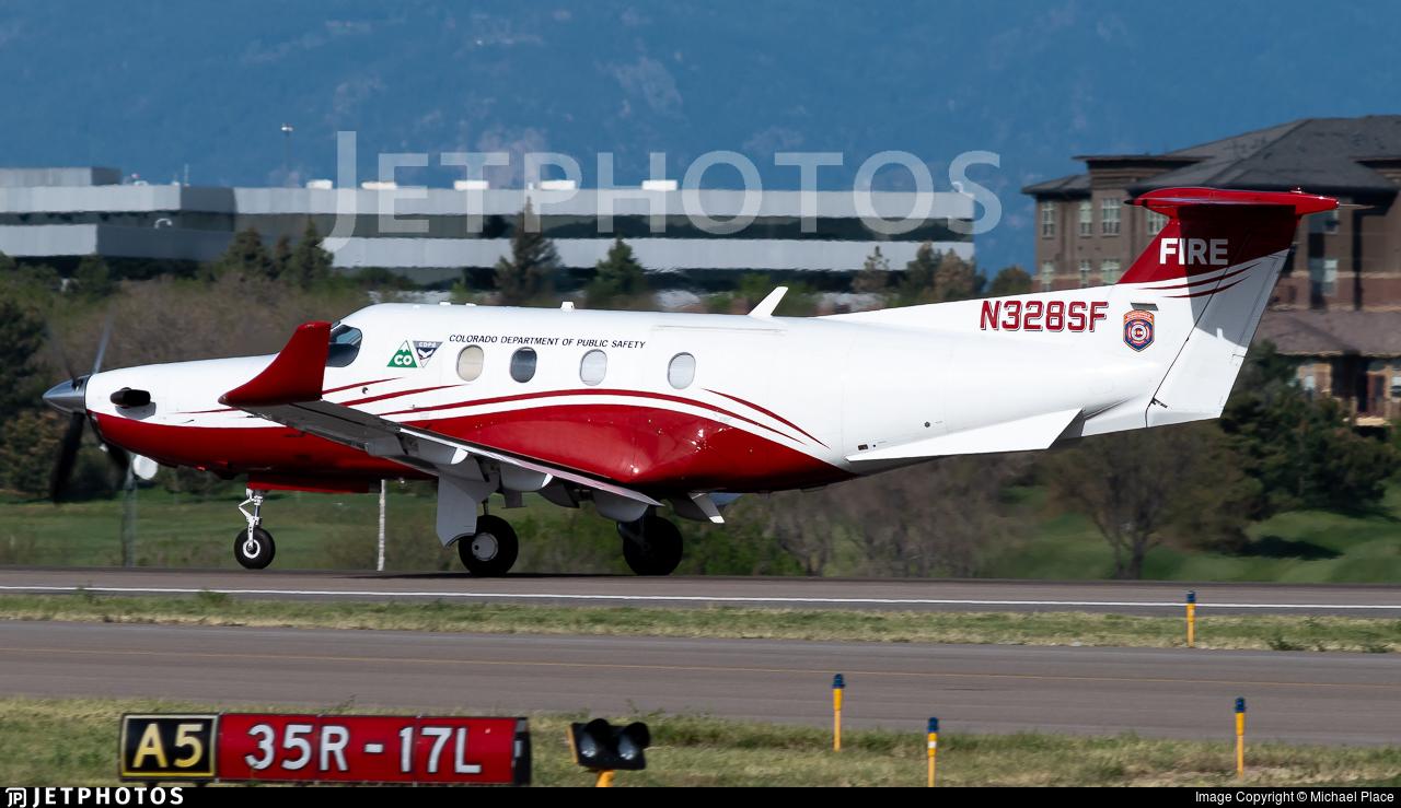N328SF - Pilatus PC-12/45 - Colorado Department of Public Safety