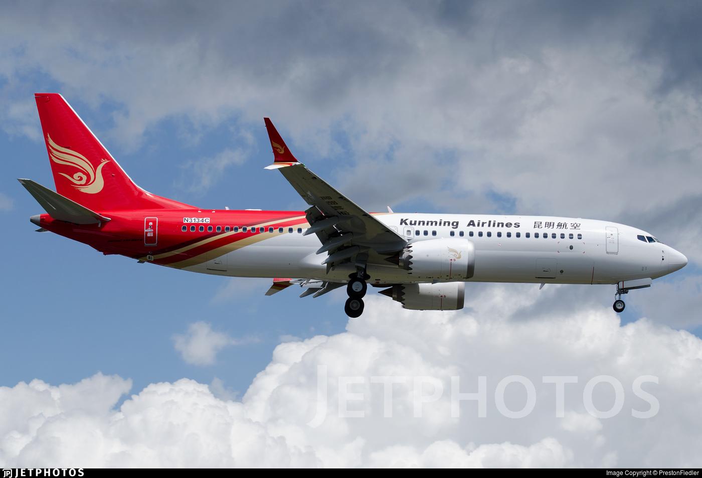 N3134C - Boeing 737-8 MAX - Kunming Airlines