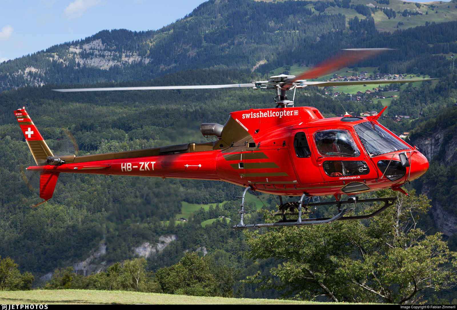 HB-ZKT - Aérospatiale AS 350B3 Ecureuil - Swiss Helicopter AG
