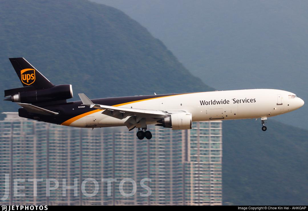 N250UP - McDonnell Douglas MD-11(F) - United Parcel Service (UPS)