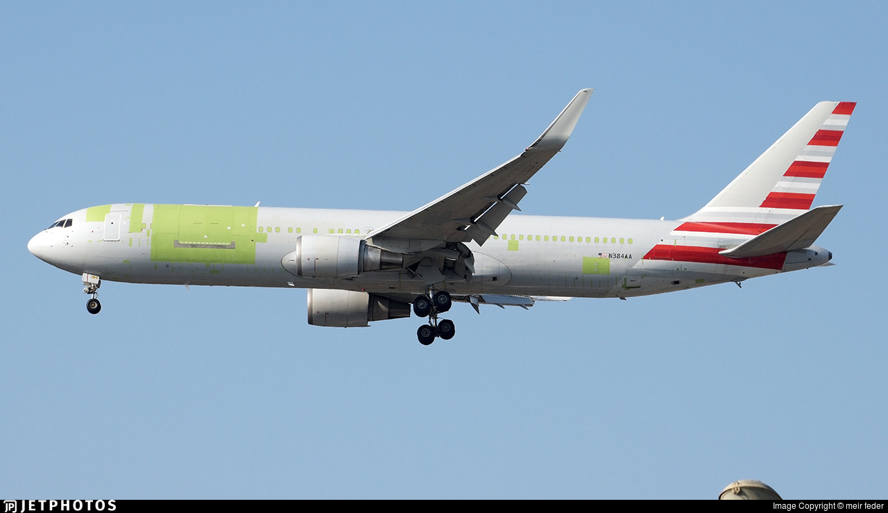 N384AA - Boeing 767-323(ER)(BDSF) - Cargo Aircraft Management