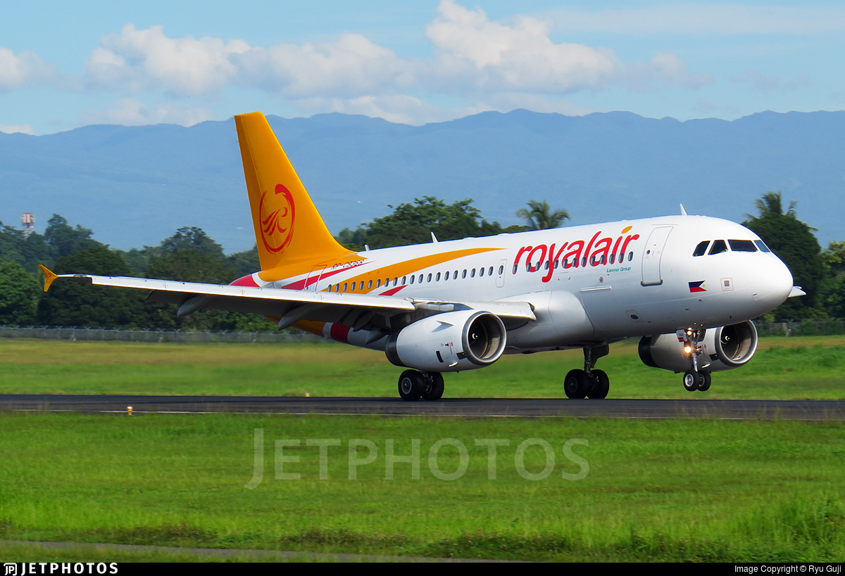 RP-C9368 - Airbus A319-132 - Royal Air Charter Service