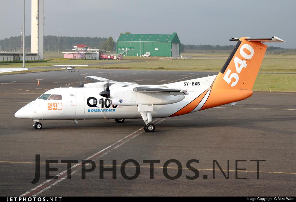 5Y-BXB - Bombardier Dash 8-102 - FLY 540 Kenya
