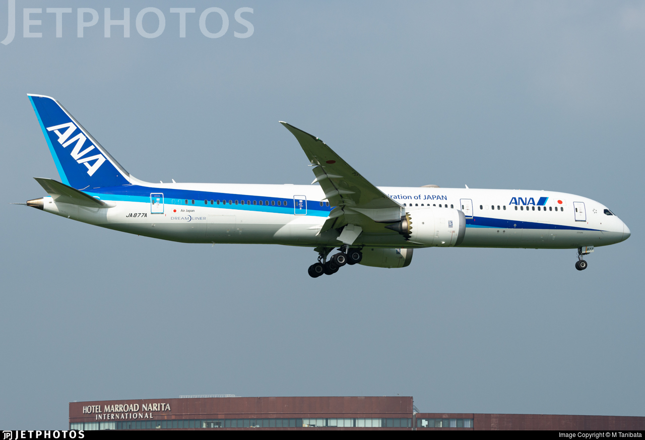 JA877A - Boeing 787-9 Dreamliner - All Nippon Airways (Air Japan)