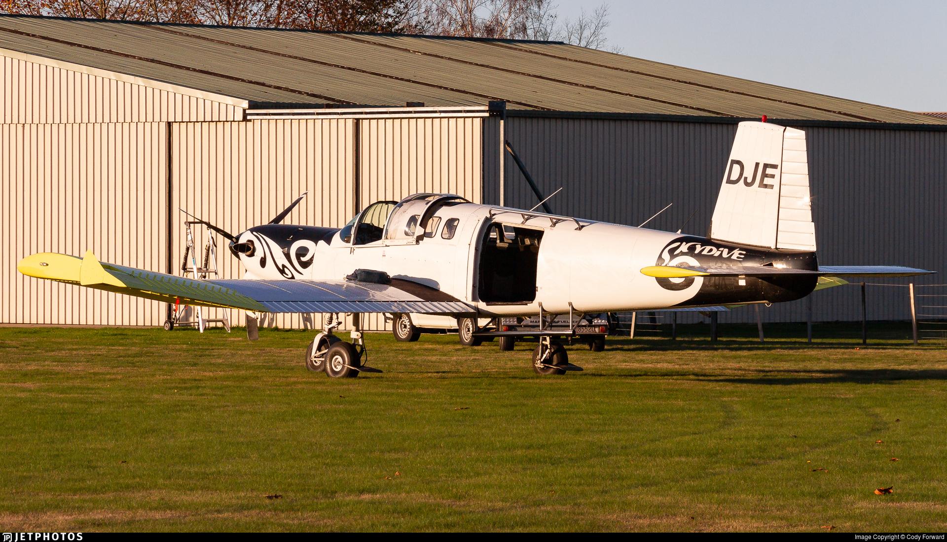 ZK-DJE - Fletcher FU-24-950 - Inflite