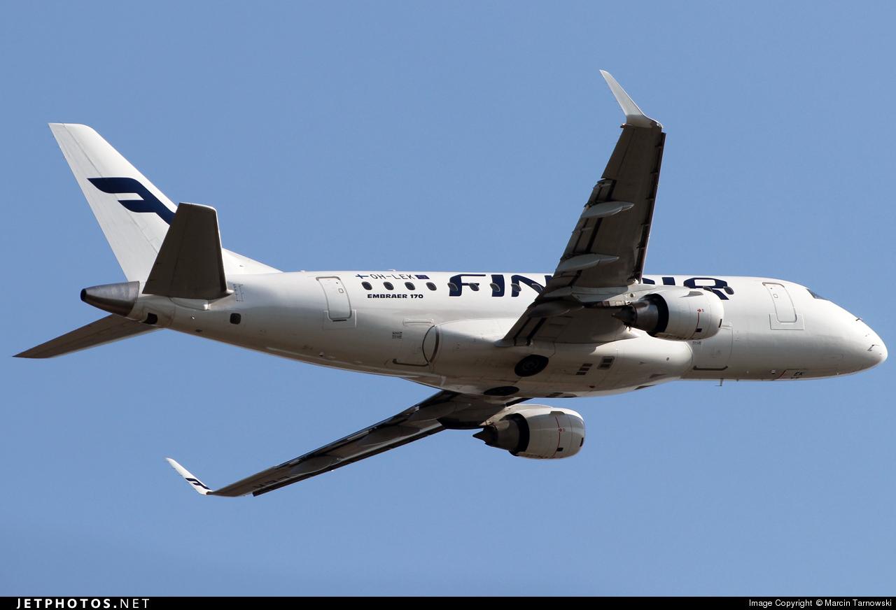 OH-LEK - Embraer 170-100STD - Finnair