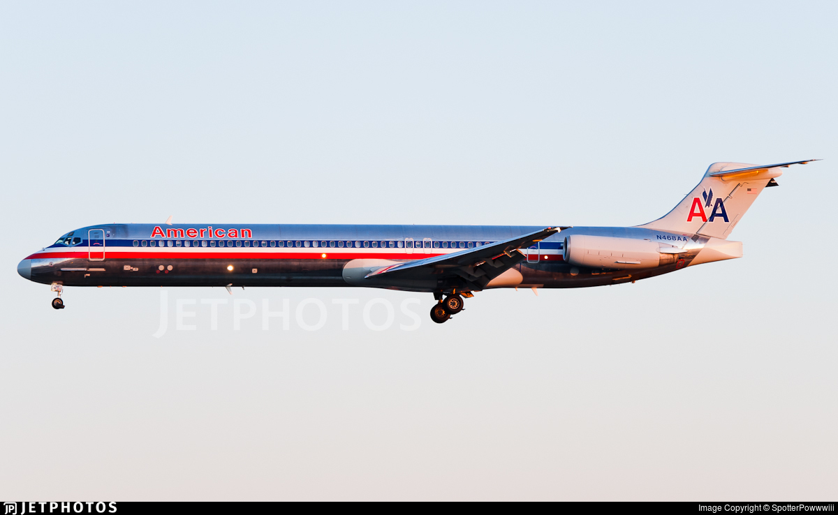 N468AA - McDonnell Douglas MD-82 - American Airlines