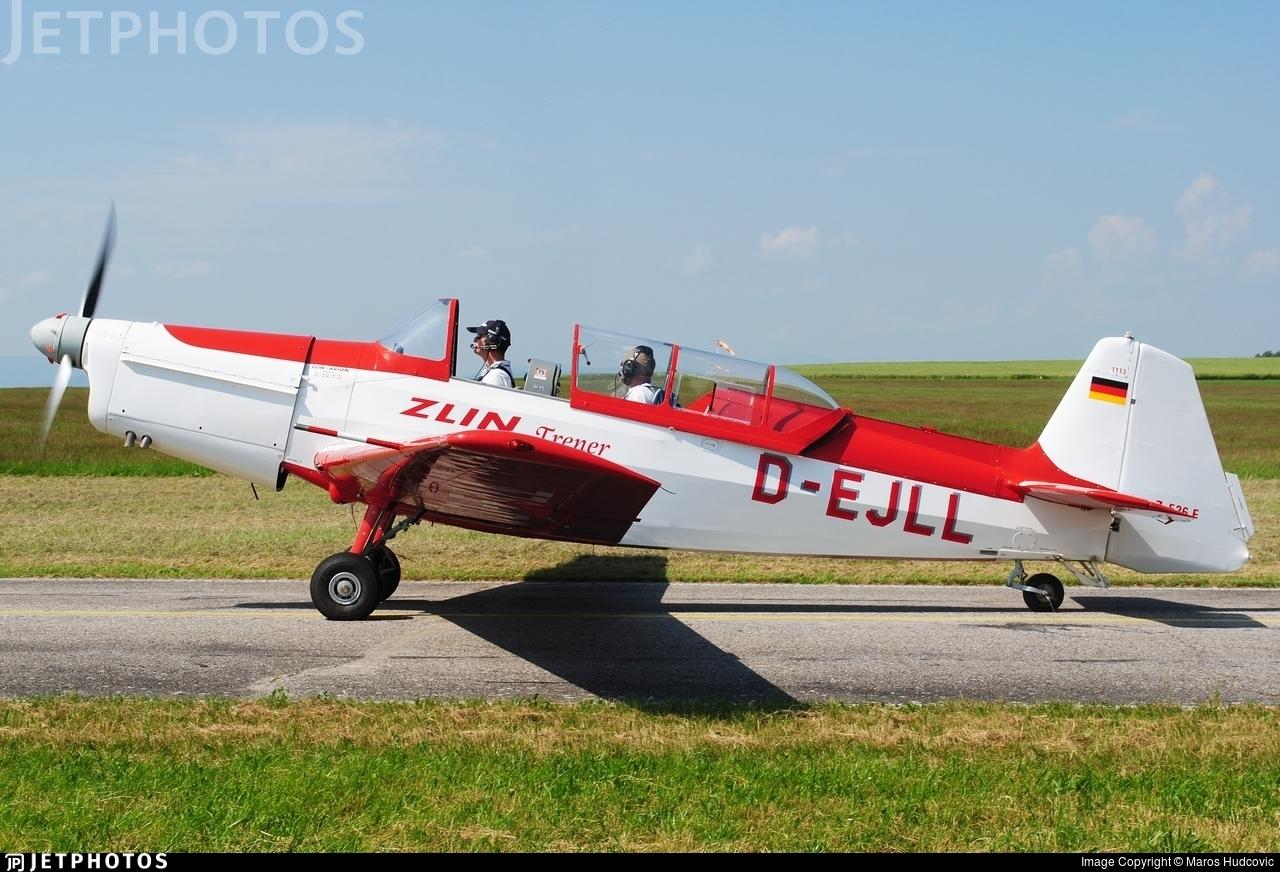 D-EJLL - Zlin 526F - Private
