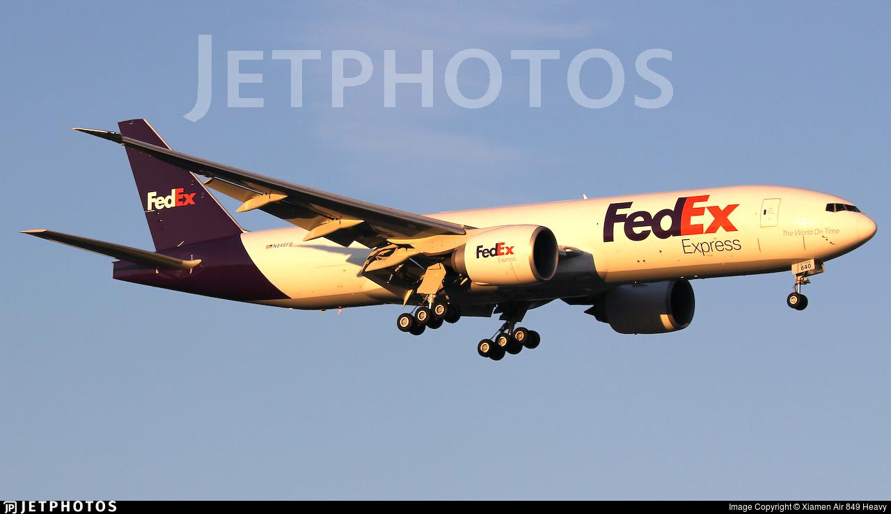 N840FD - Boeing 777-FFX - FedEx