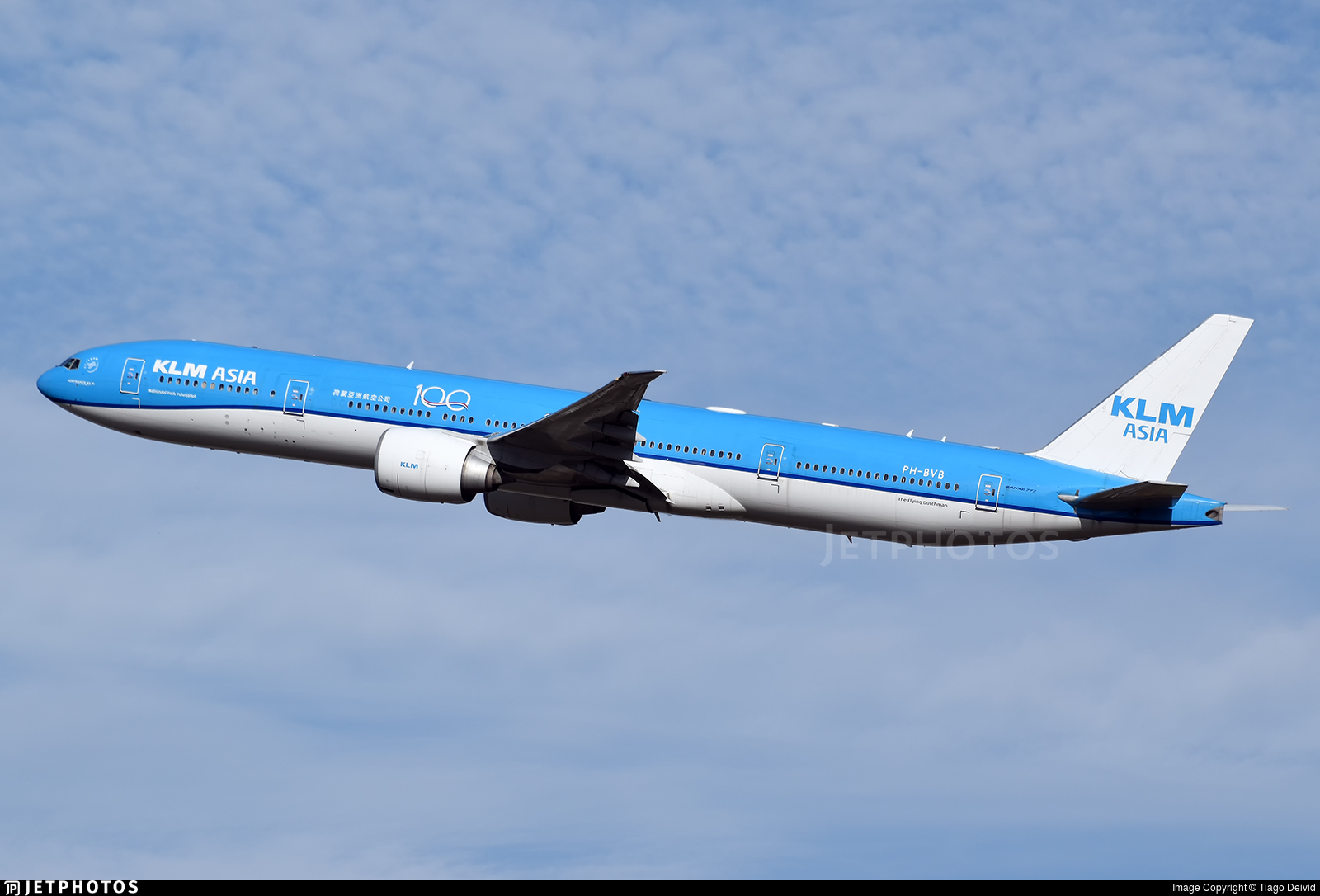 PH-BVB - Boeing 777-306ER - KLM Royal Dutch Airlines