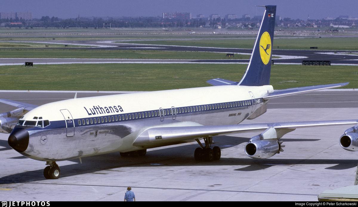 D-ABOC - Boeing 707-430 - Lufthansa