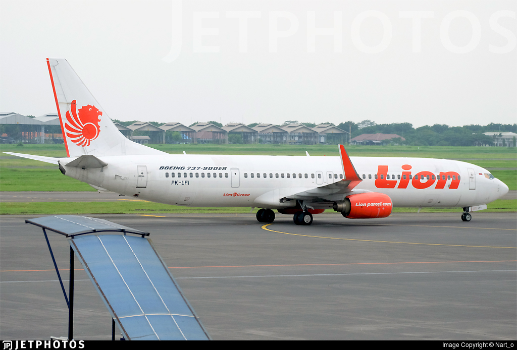PK-LFI - Boeing 737-9GPER - Lion Air