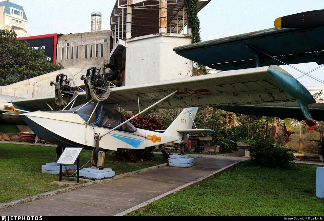 401 - Chernov Che22 Korvet-KZ - Vietnam - Air Force