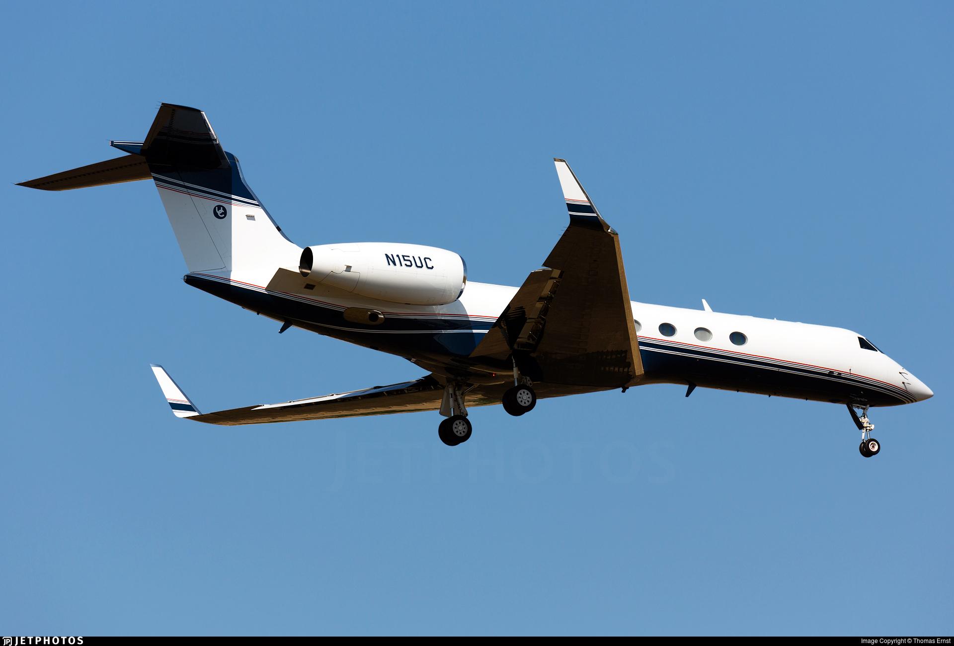 N15UC - Gulfstream G-V - Private