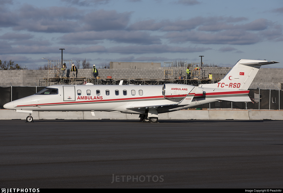 TC-RSD - Bombardier Learjet 45 - Redstar Aviation