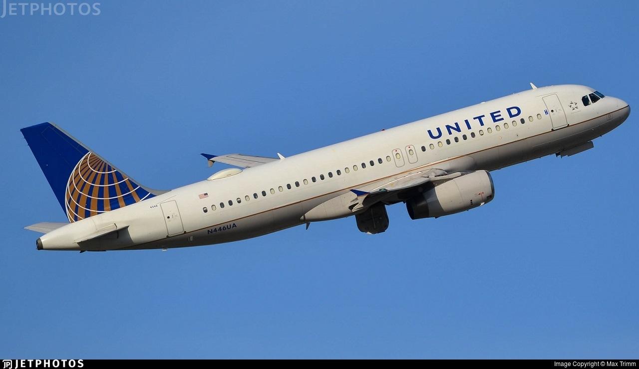 N446UA - Airbus A320-232 - United Airlines