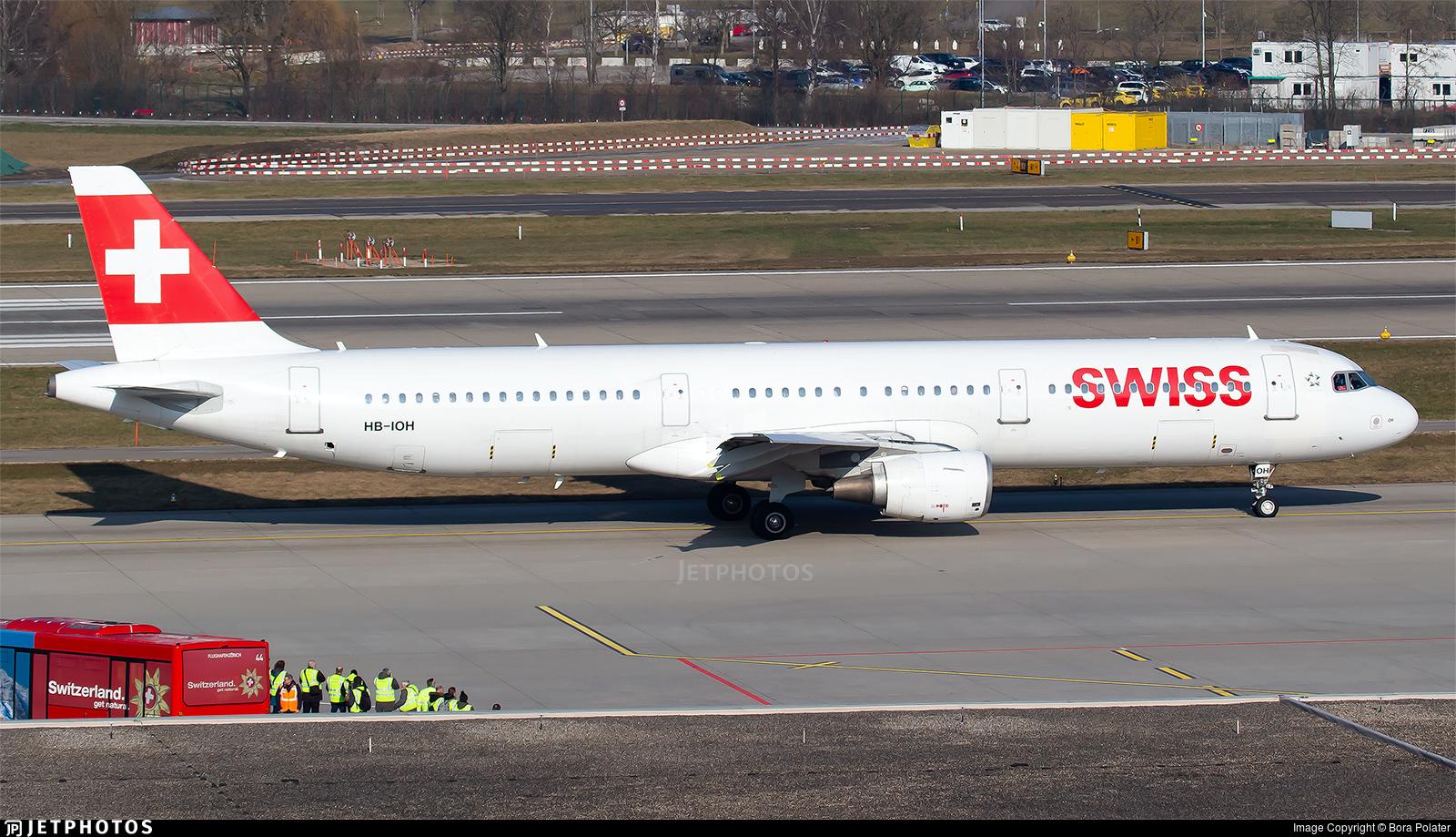 HB-IOH - Airbus A321-111 - Swiss