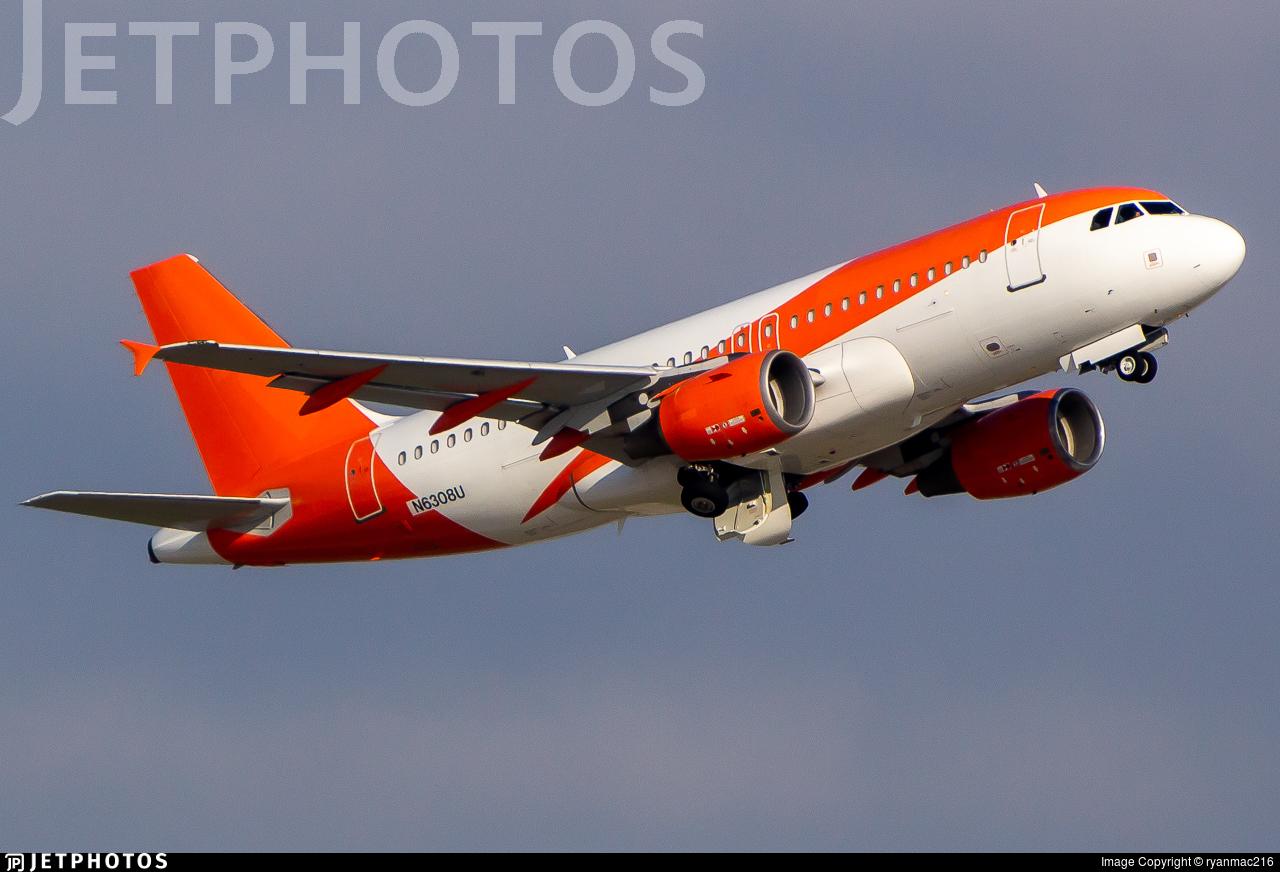 N6308U - Airbus A319-111 - United Airlines