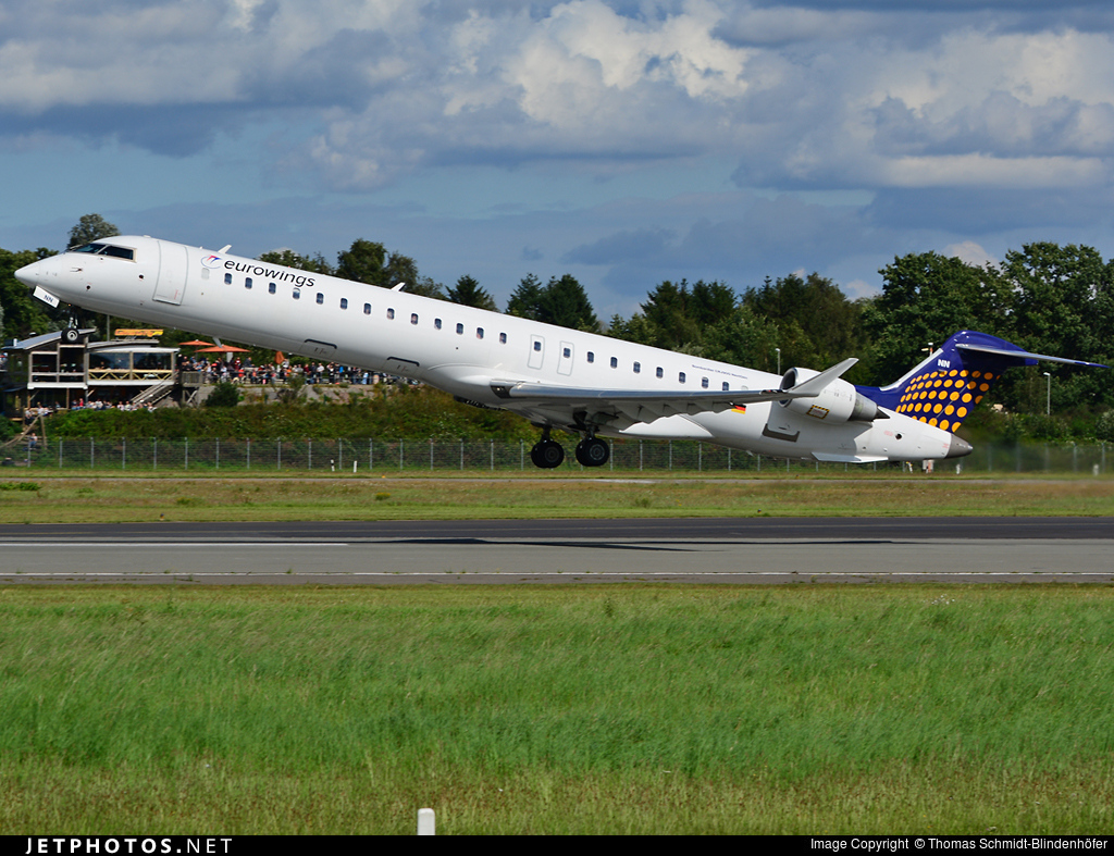 D-ACNN - Bombardier CRJ-900 - Eurowings