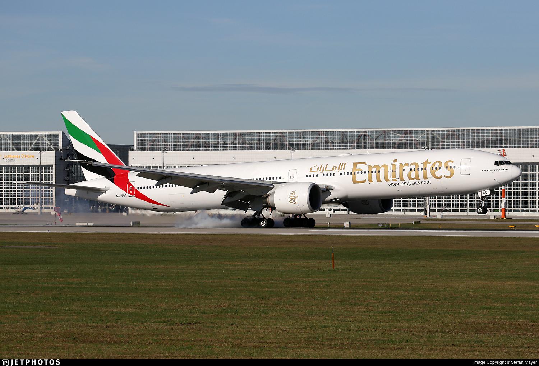 A6-EGQ - Boeing 777-31HER - Emirates