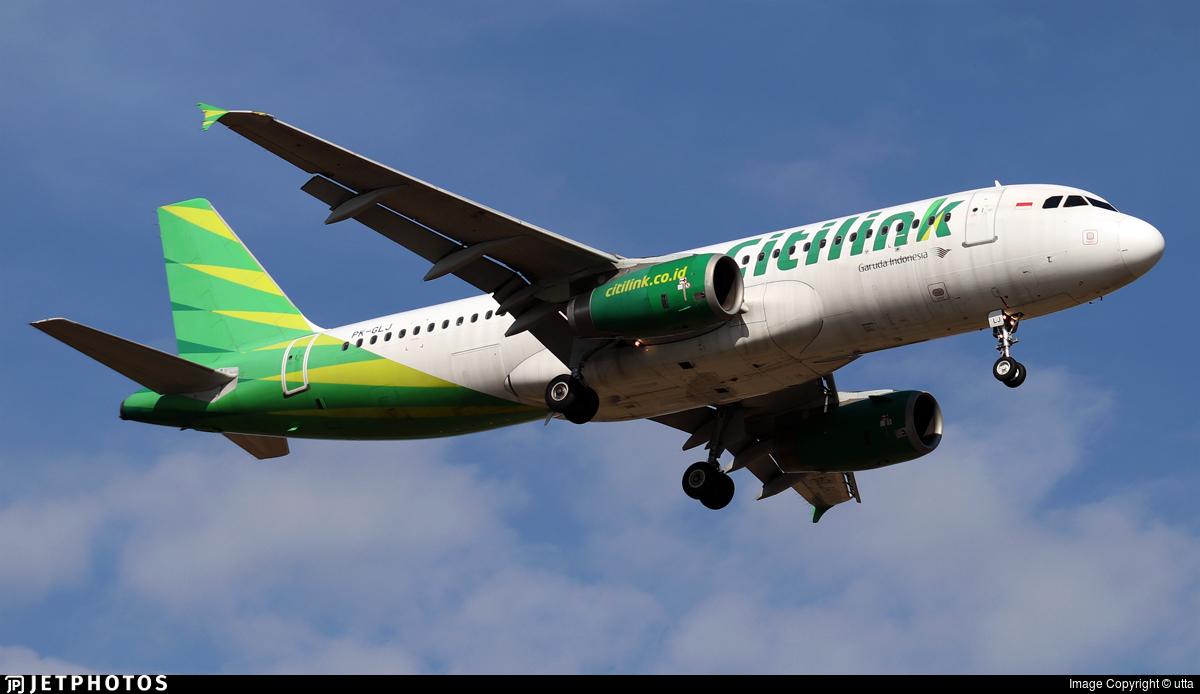 PK-GLJ - Airbus A320-232 - Citilink