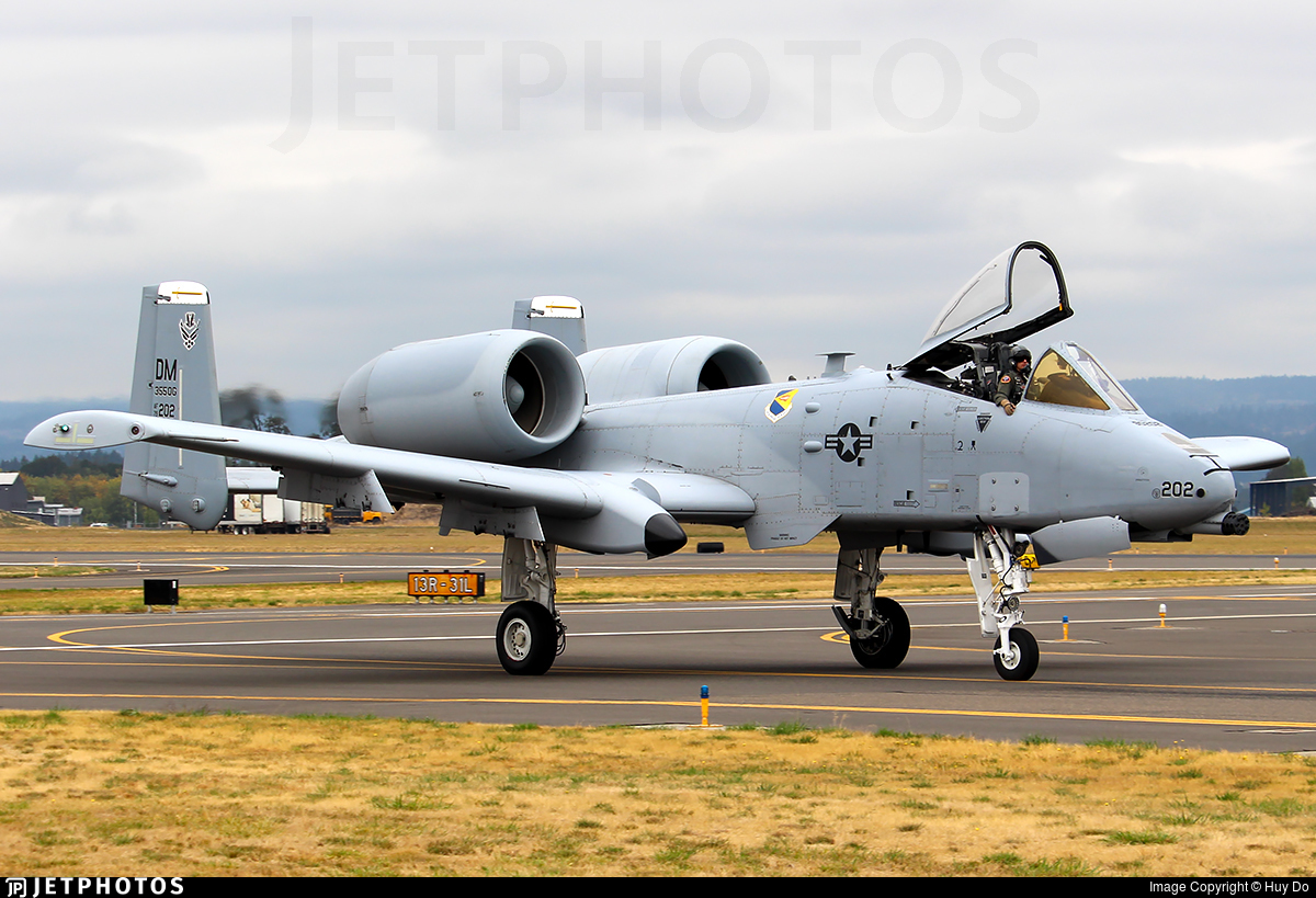 79-0202 - Fairchild A-10C Thunderbolt II - United States - US Air Force (USAF)