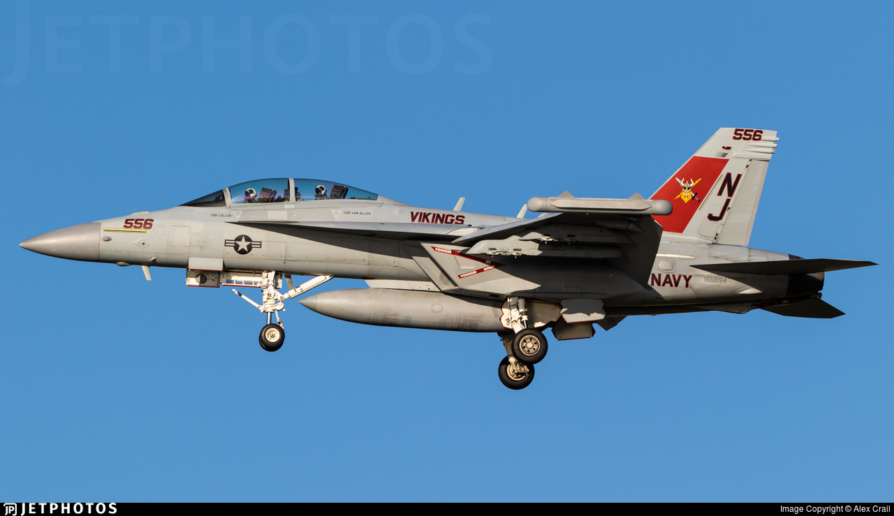 166894 - Boeing EA-18G Growler  - United States - US Navy (USN)
