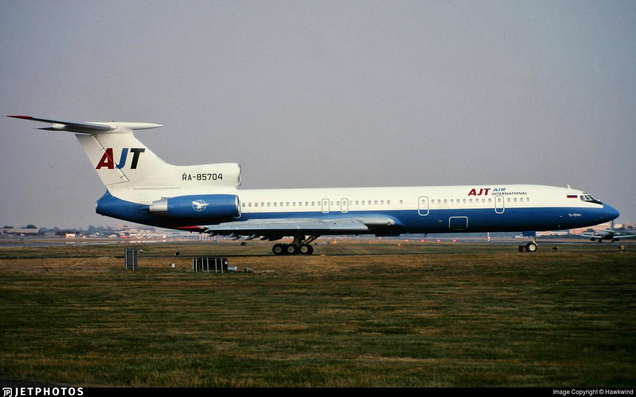 RA-85704 - Tupolev Tu-154M - AJT Air International