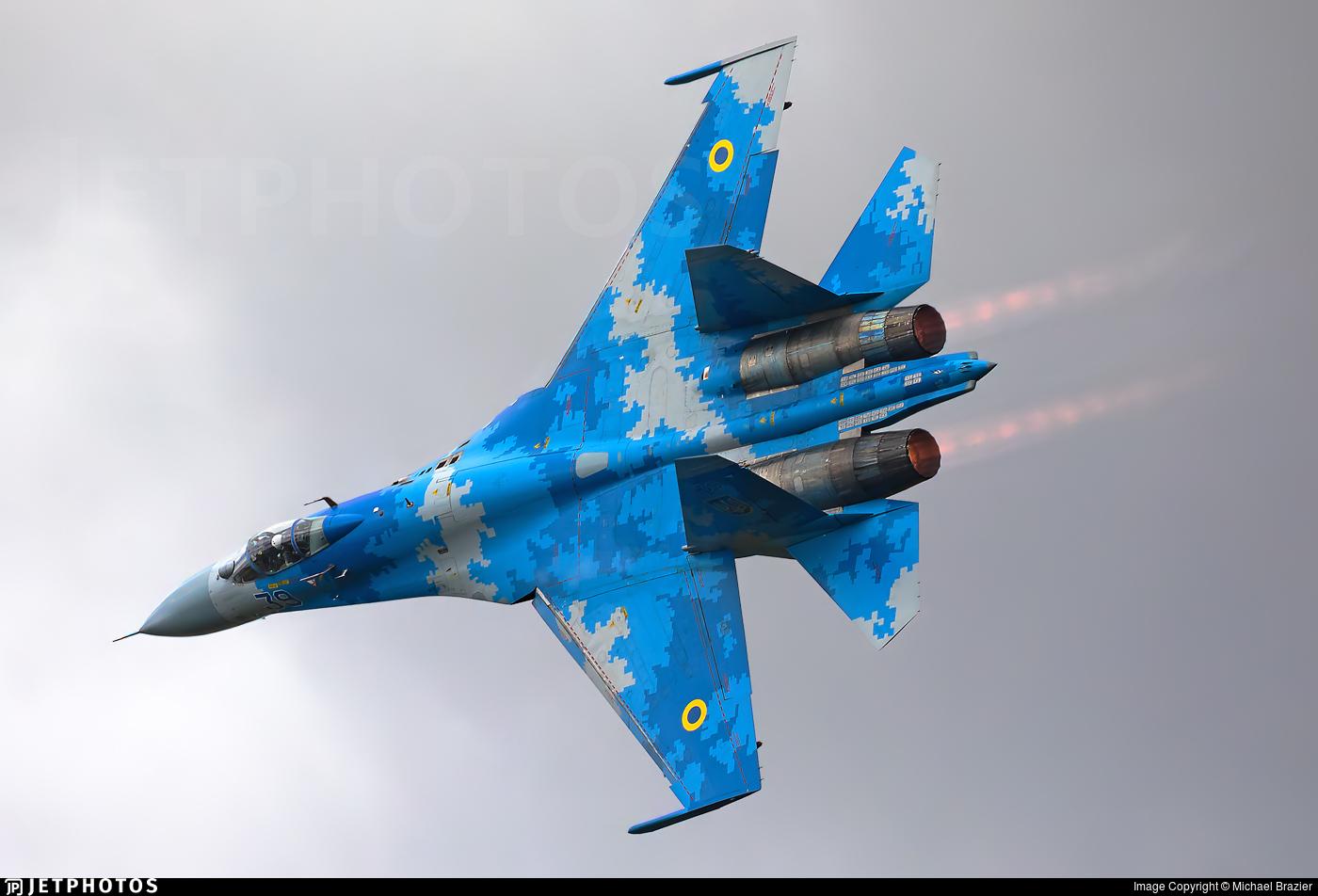 39 - Sukhoi Su-27P Flanker - Ukraine - Air Force