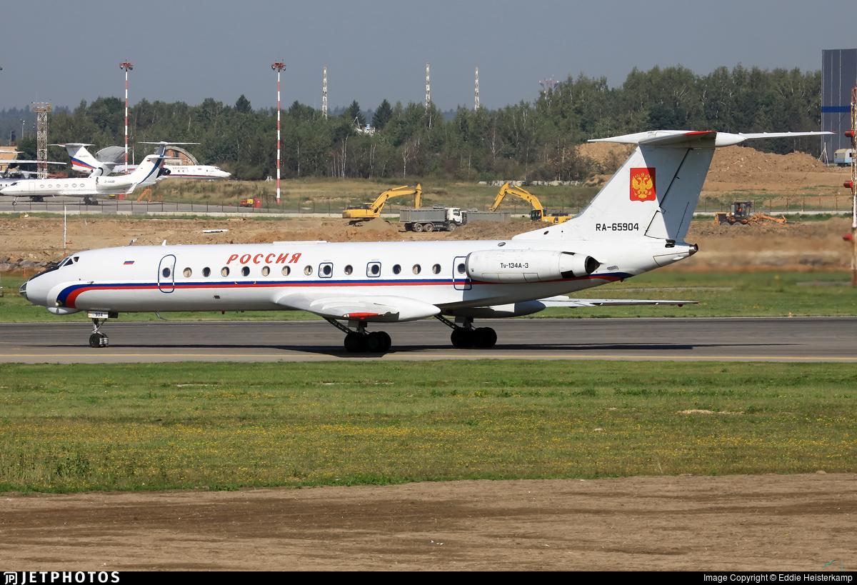 RA-65904 - Tupolev Tu-134A-3 - Russia - State Transport Company
