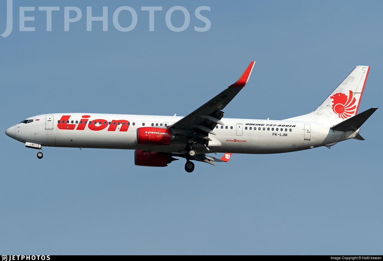 PK-LJM - Boeing 737-9GPER - Lion Air