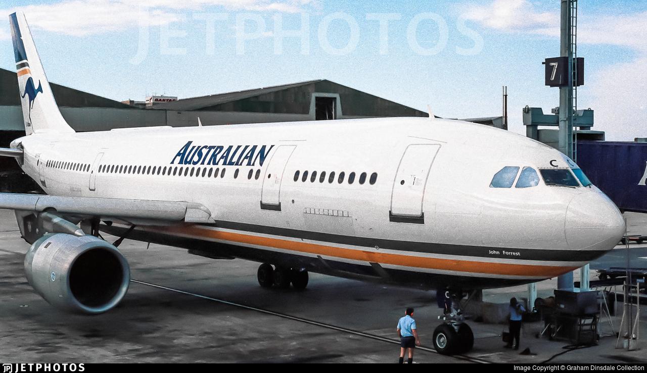 VH-TAC - Airbus A300B4-203 - Australian Airlines