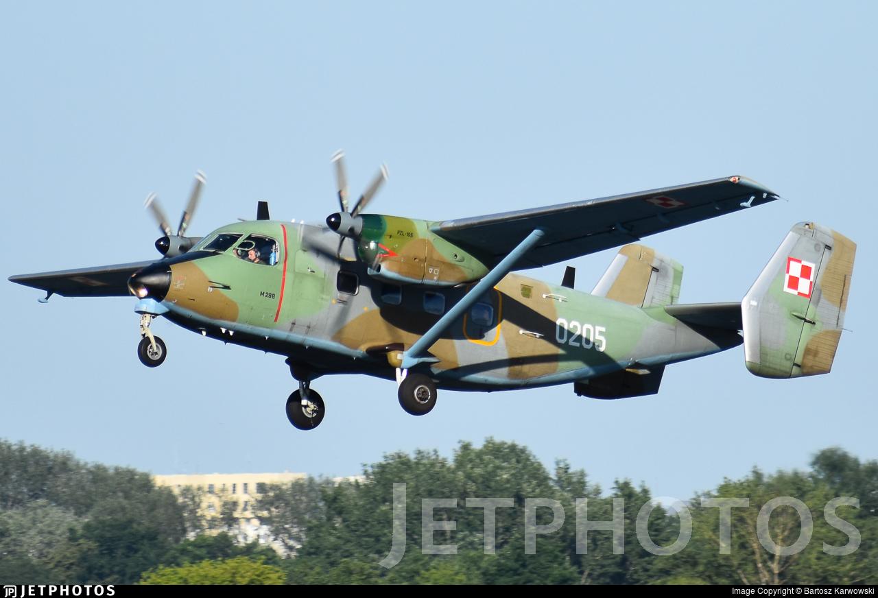 0205 - PZL-Mielec M-28TD Bryza - Poland - Air Force