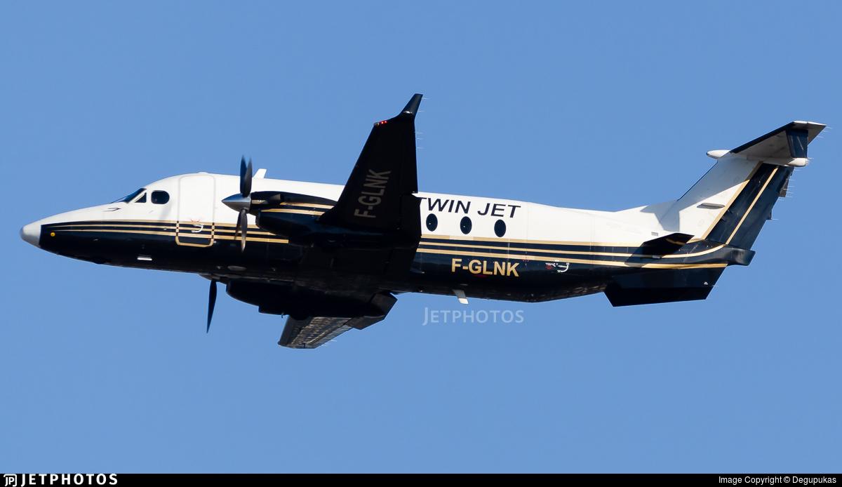 F-GLNK - Beech 1900D - Twin Jet