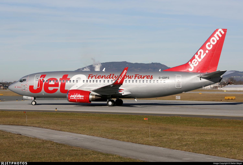 G-GDFG - Boeing 737-36Q - Jet2.com