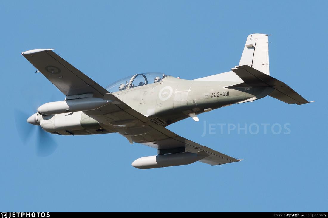 A23-031 - Pilatus PC-9A - Australia - Royal Australian Air Force (RAAF)