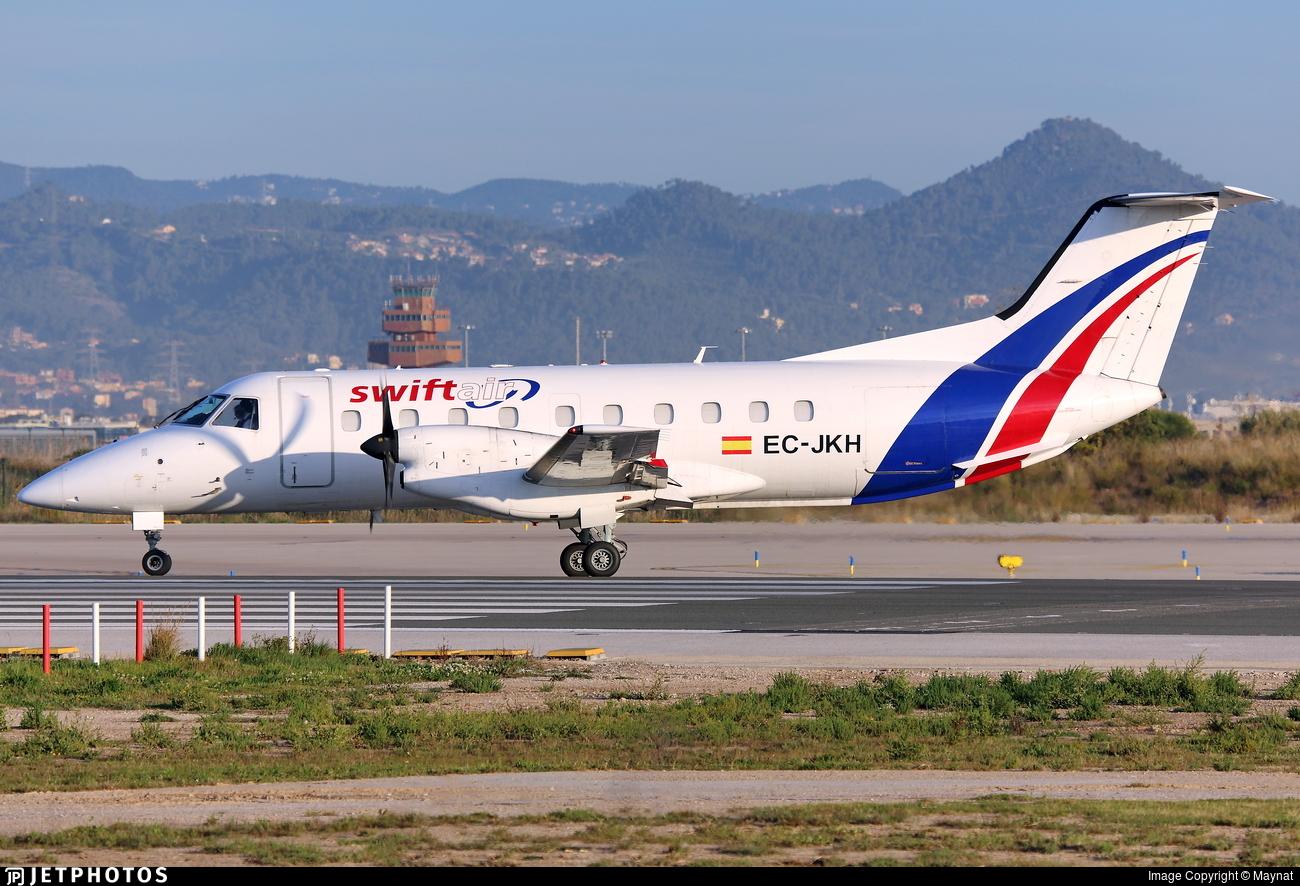 EC-JKH - Embraer EMB-120ER Bras�lia - Swiftair