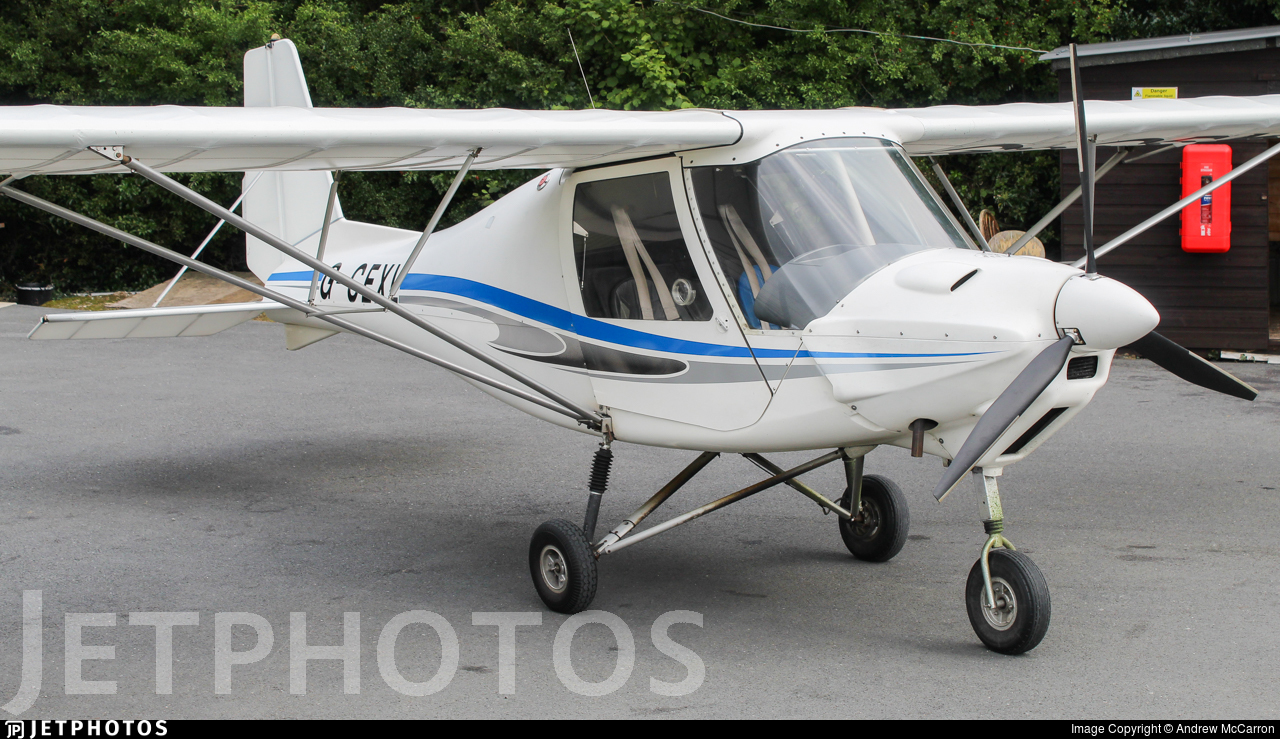 G-CEXL - Ikarus C-42 - Private