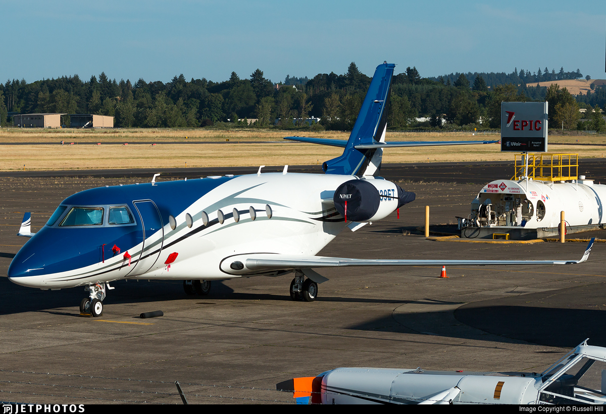 N39ET - Gulfstream G200 - Private