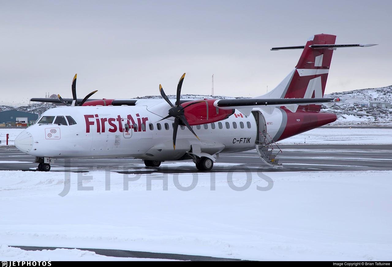 C-FTIK - ATR 42-500 - First Air