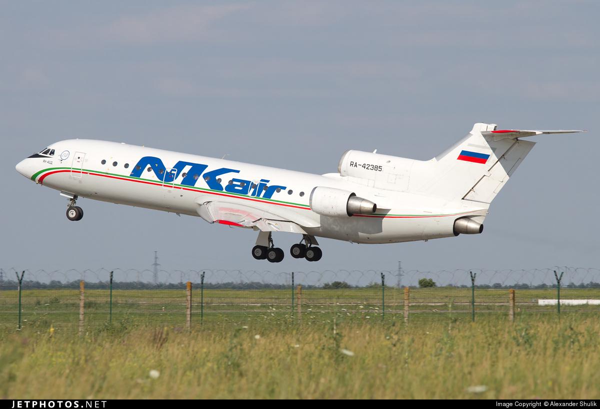 RA-42385 - Yakovlev Yak-42D - Grozny-Avia