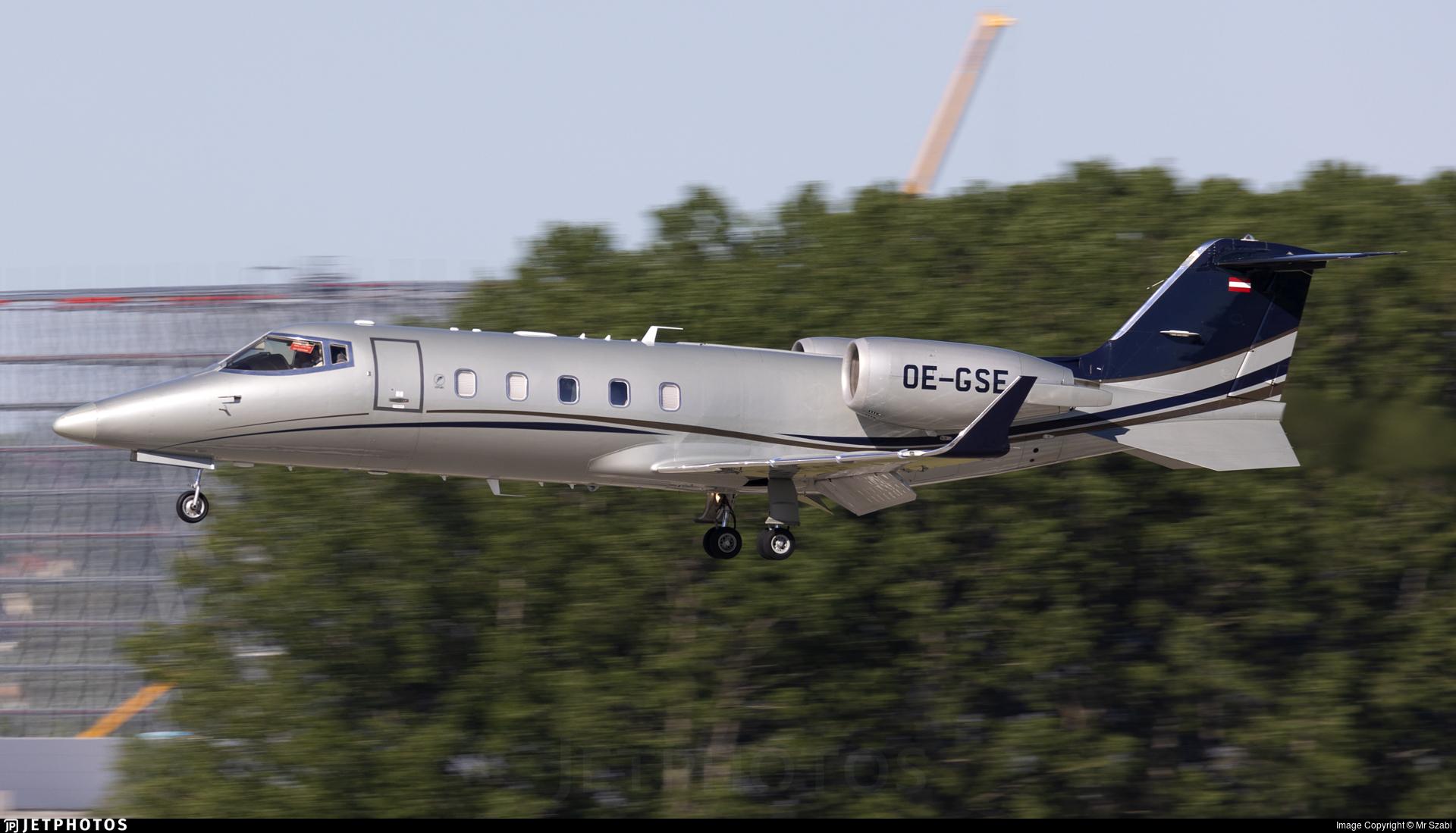 OE-GSE - Bombardier Learjet 60 - Avcon Jet